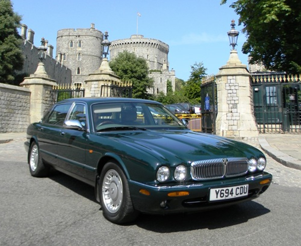 Lot 241 - 2001 13119 HM, The Queen's personal Daimler V8 Saloon (long wheel base)