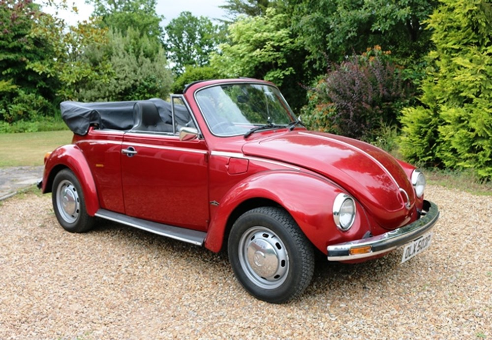 Lot 216 - 1975 Volkswagen Beetle 1303S Convertible by Karmann