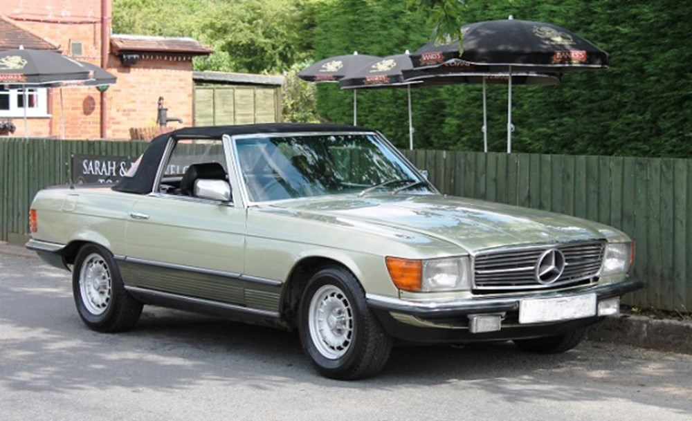 Lot 204 - 1985 12987 500SL Roadster