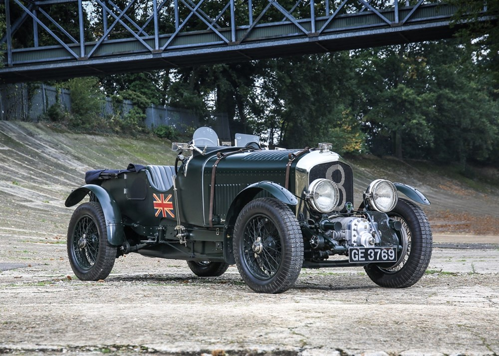 Lot 263 - 1929 Bentley 4½ litre Open Tourer in the Vanden Plas style