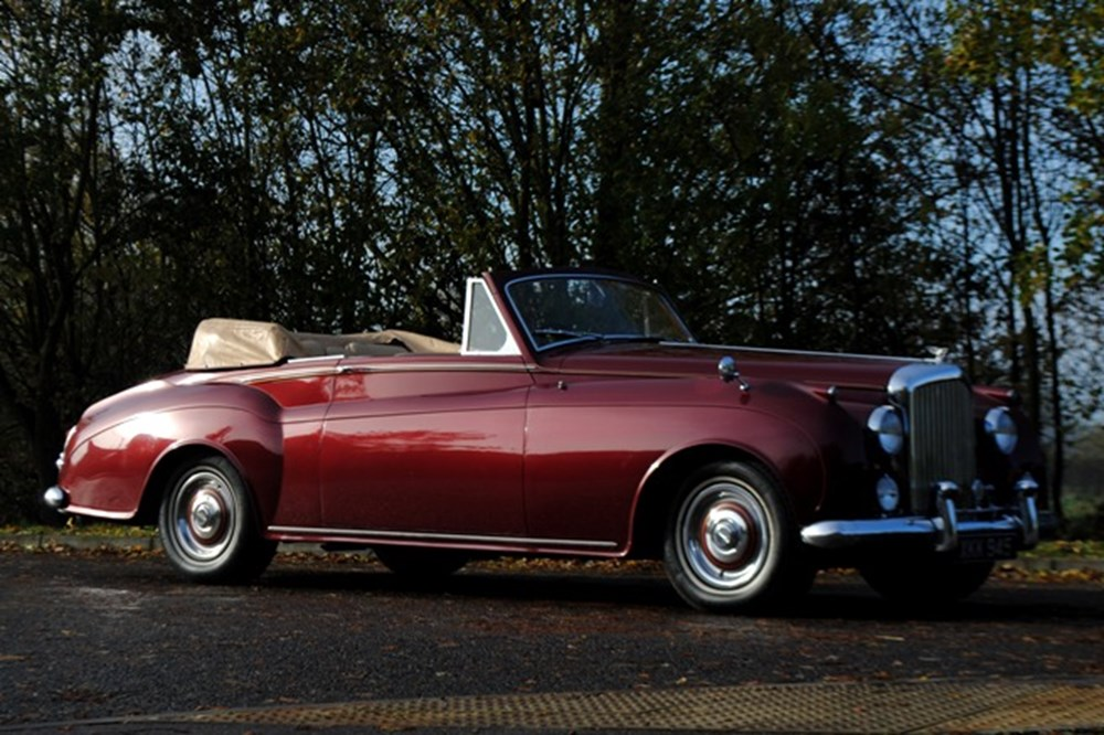 1956 bentley s1 convertible classic sports car auctioneers. Black Bedroom Furniture Sets. Home Design Ideas