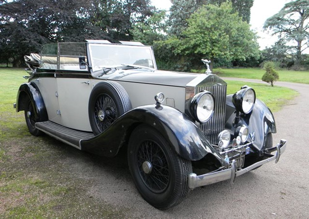 Lot 260 - 1935 13051 20/25 Tickford Silver Jubilee Cabriolet by Salmons