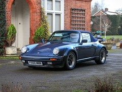Navigate to Lot 244 - 1989 Porsche 911 / 930 Turbo Cabriolet