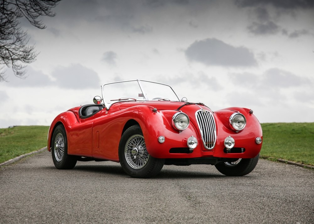 Lot 154 - 1955 Jaguar XK140 Roadster 'Fast Road'