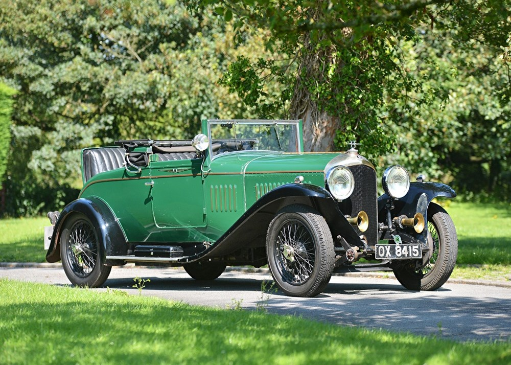 Lot 183 - 1928 Bentley 4 1/2 Litre Drophead Coupé by Salmons & Sons