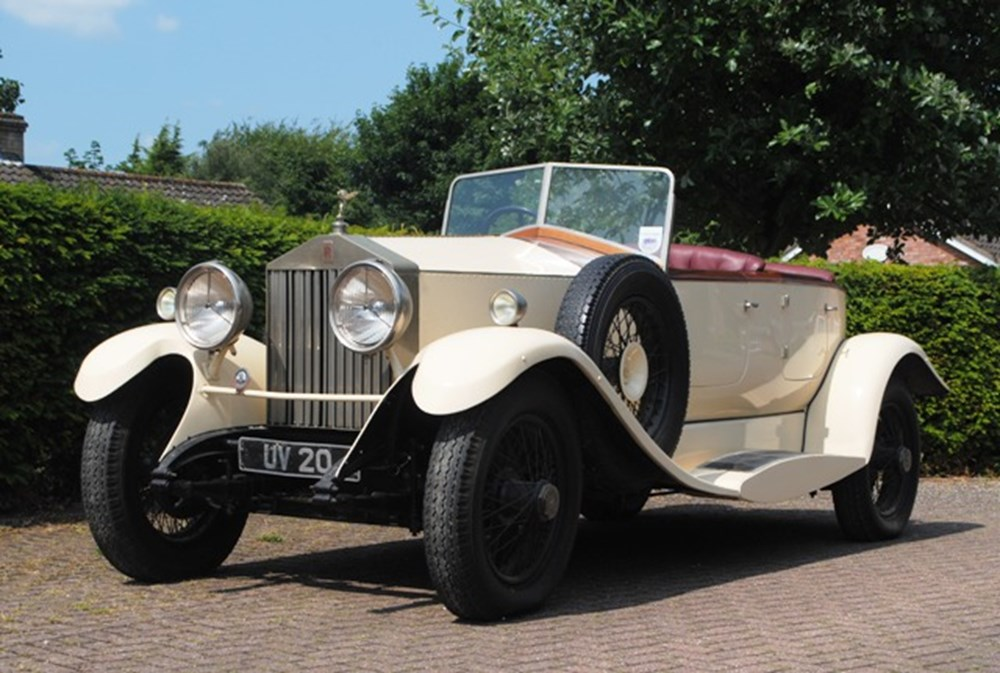 Lot 235 - 1929 13051 20hp Dual-Cowl, Boat-tail Tourer by F.W. Griffin
