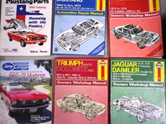 Navigate to Vehicle manuals