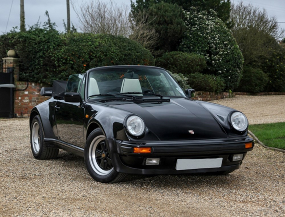 Lot 172 - 1989 Porsche 911 (930) Turbo Cabriolet
