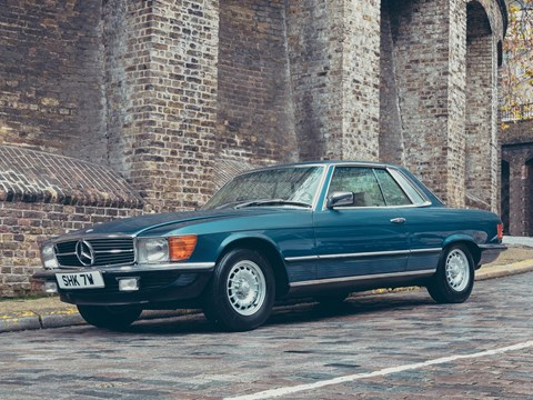 Ref 7 1980 Mercedes-Benz 450 SLC