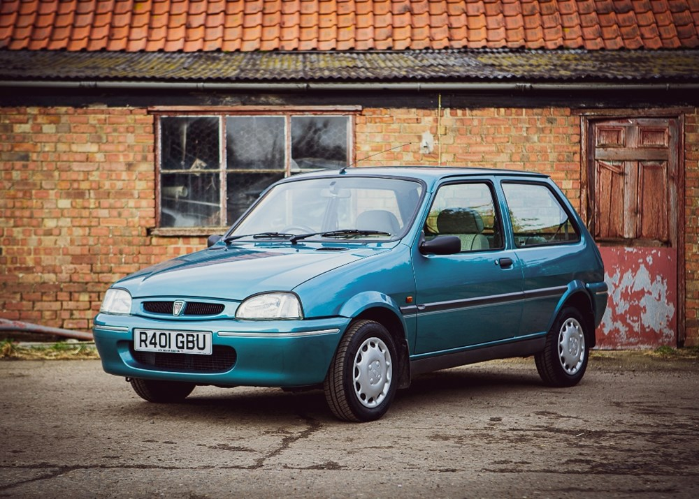 Lot 107 - 1998 Rover 100 Ascot Edition