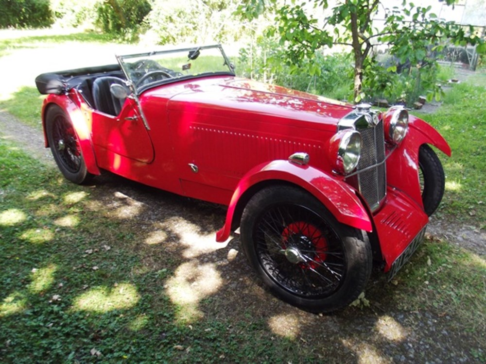 Lot 255 - 1931 MG F Type Magna