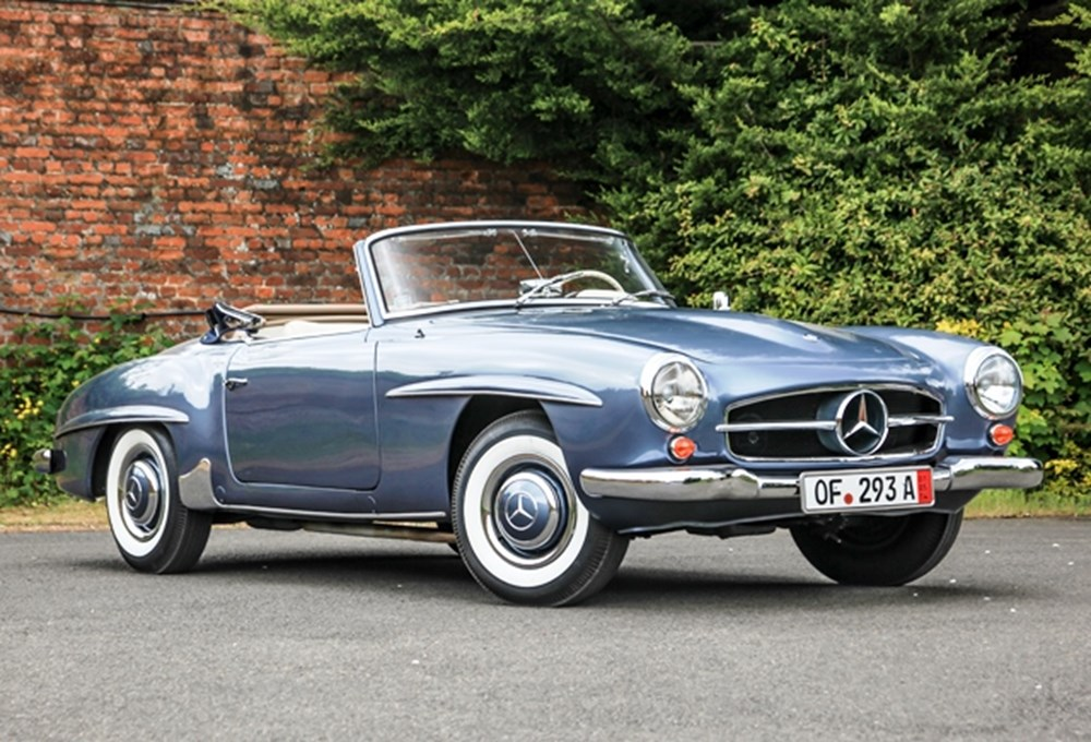 ref 130 mercedes benz 190sl classic sports car auctioneers. Black Bedroom Furniture Sets. Home Design Ideas