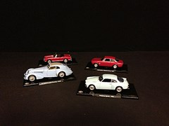 Navigate to Four 1/20 scale Alfa Romeo models