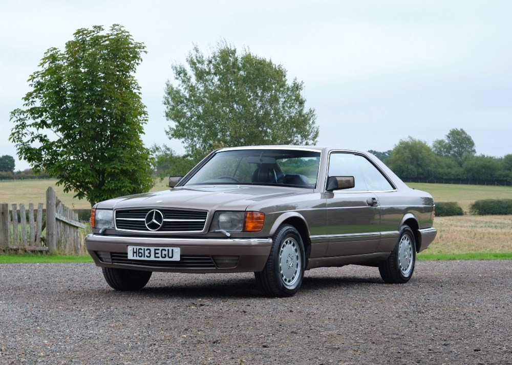 Lot 251 - 1991 Mercedes-Benz 560 SEC