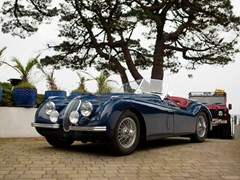 Navigate to Lot 162 - 1954 Jaguar XK120 Roadster 'Fast road'