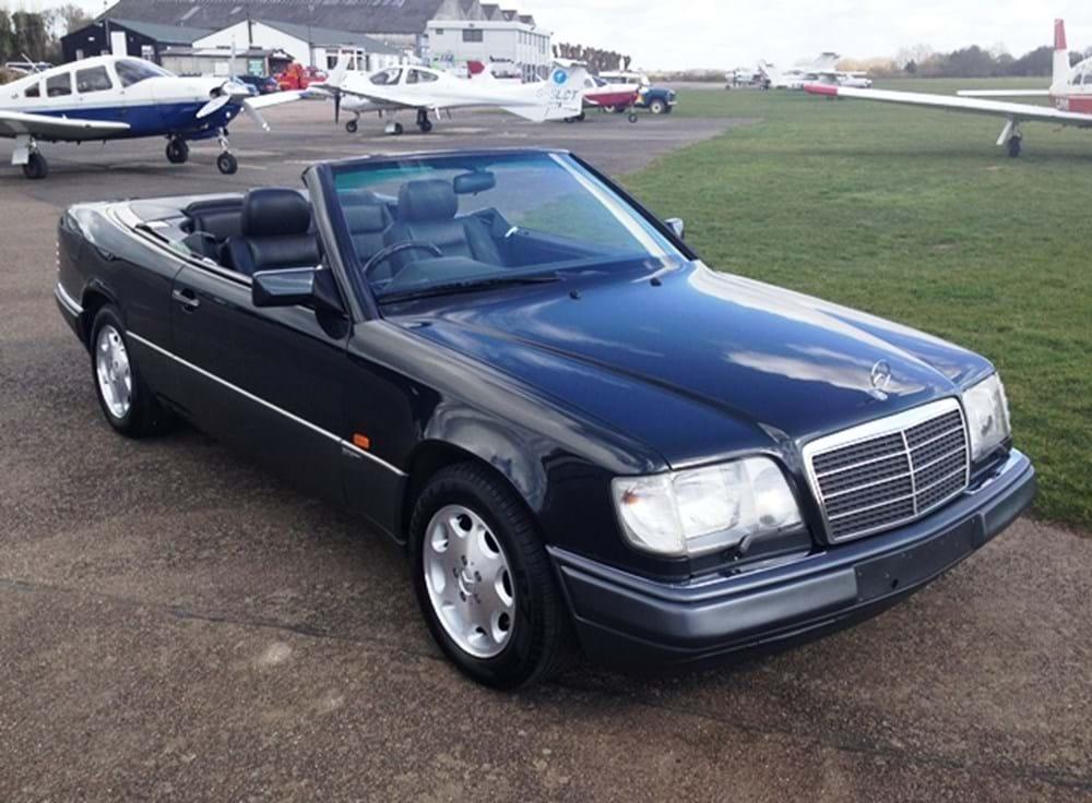 Ref 194 1994 mercedes benz e320 sportline convertible for Mercedes benz e320 1994