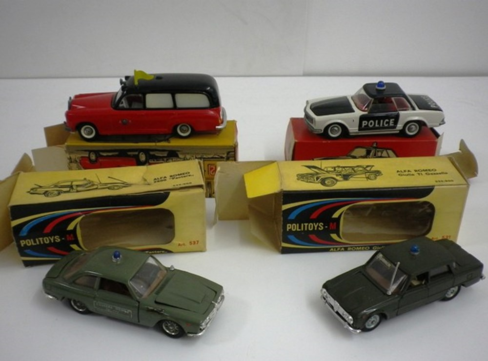 Lot 30 - Four die-cast model cars