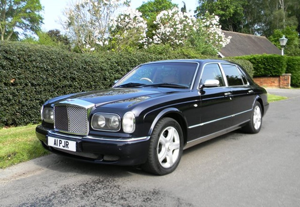 Lot 320 - 2002 Bentley Arnage Mulliner LWB