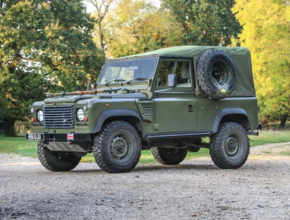 Lot 224 - 1998 Land Rover Wolf 90 Soft-Top