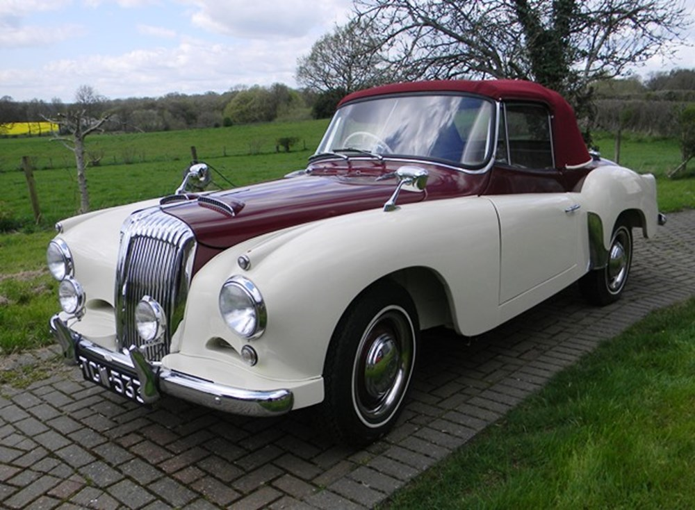 Lot 328 - 1956 Daimler Conquest Century Drophead Coupé