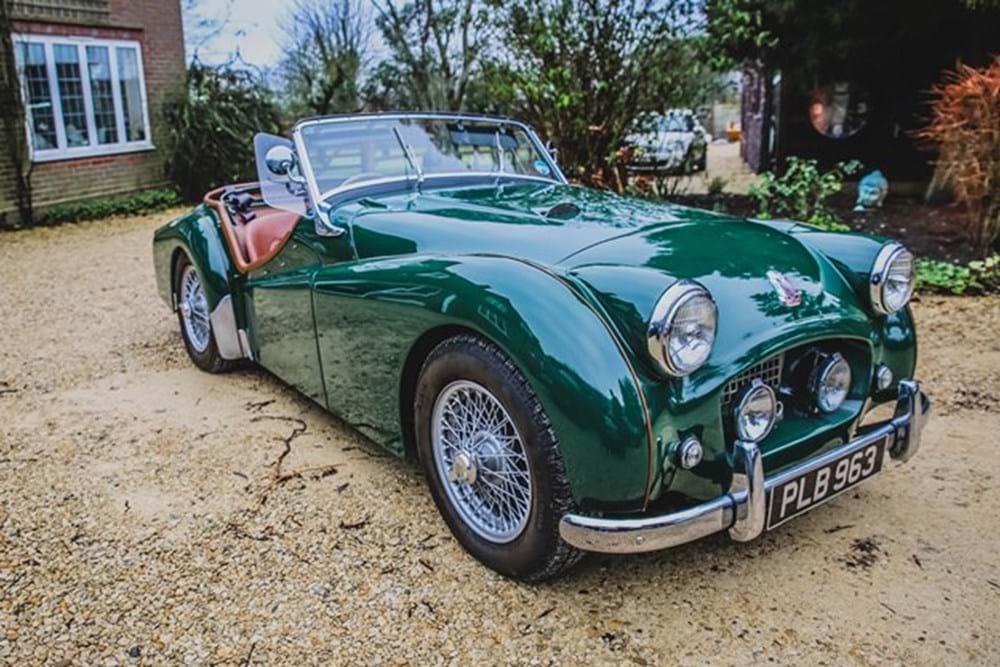 Ref 97 1954 Triumph Tr2 Classic Sports Car Auctioneers