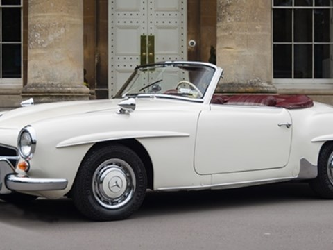 Ref 168 1958 Mercedes 190 SL roadster