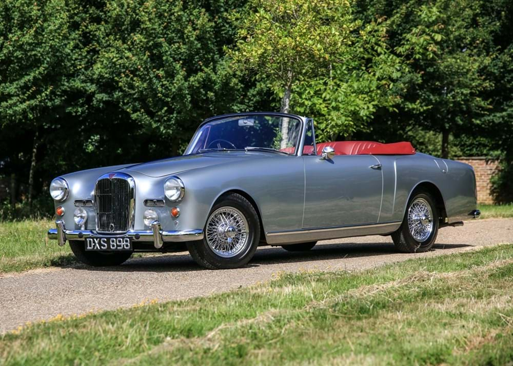 Lot 170 - 1961 Alvis TD 21 Series I Drophead Coupé by Park Ward