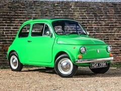 Navigate to Lot 156 - 1972 Fiat 500F
