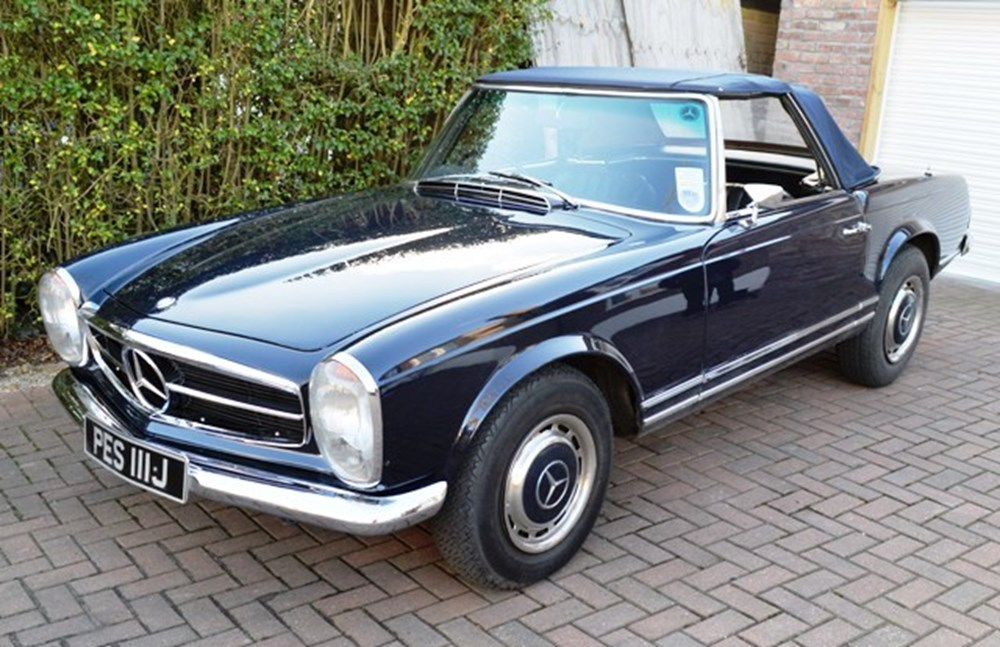Lot 313 - 1968 Mercedes-Benz S280SL Pagoda