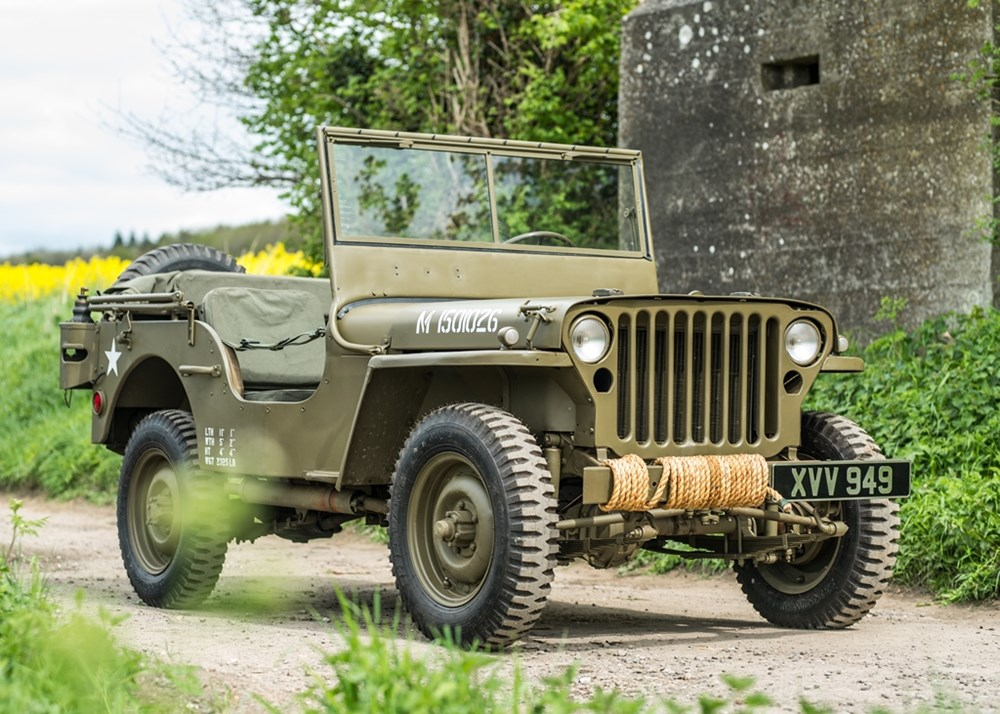 Lot 193 - 1942  Ford Jeep (GPW)
