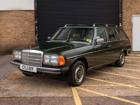 Ref 123 1982 Mercedes-Benz 280 TE Estate 'Seven Seat'