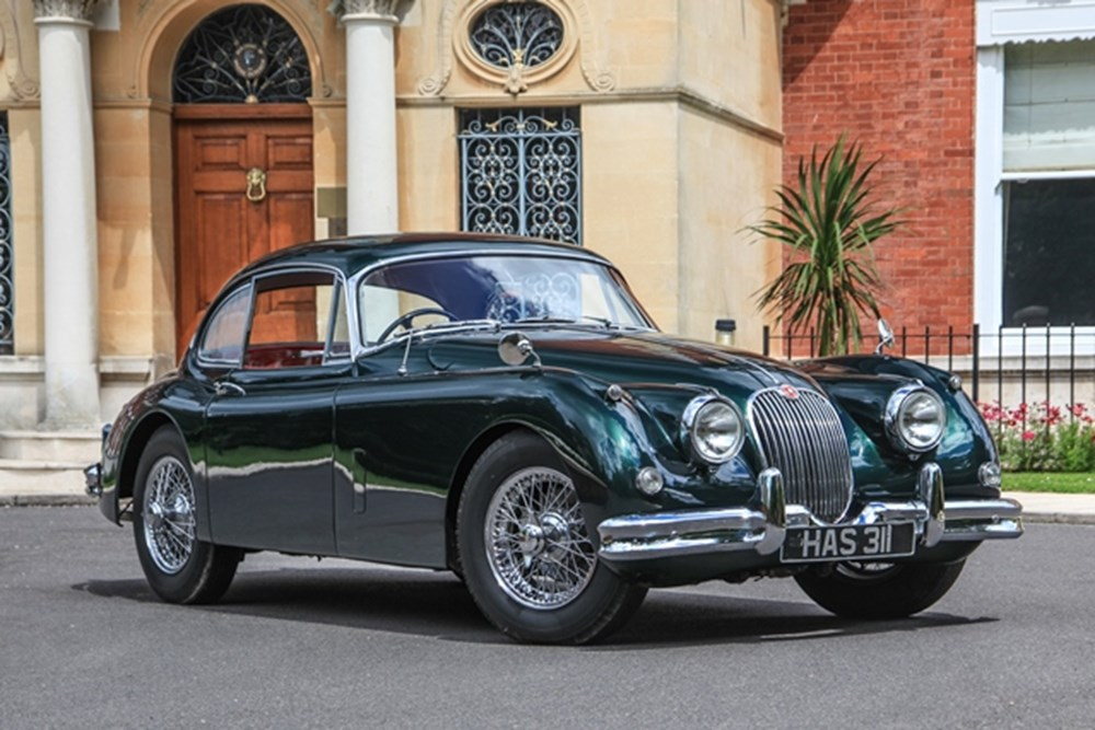 Lot 273 - 1958 Jaguar XK150 Fixedhead Coupé