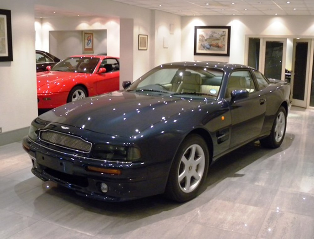 Lot 246 - 1997 Aston Martin V8 Coupé