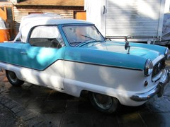 Navigate to Lot 201 - 1959 12851 Nash Metropolitan Series III