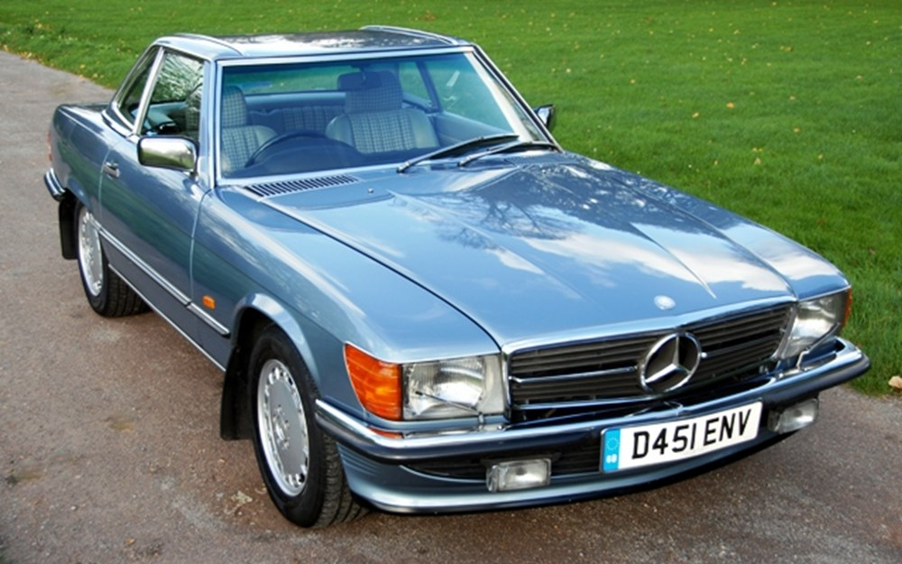 Lot 314 - 1986 12987 420SL Roadster
