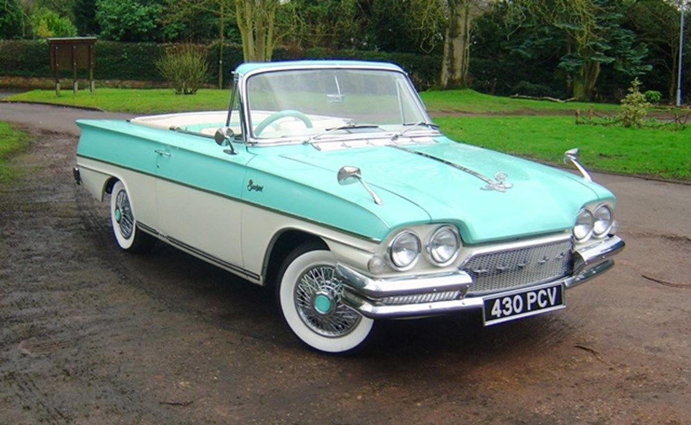 Lot 173 - 1962 Ford Consul Capri Convertible