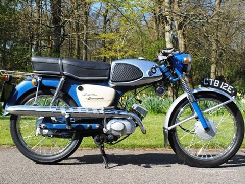 1967 Suzuki M12 Supersport