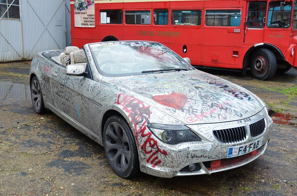 Lot 306 - 2004 BMW 645Ci, The 'Write off World' car