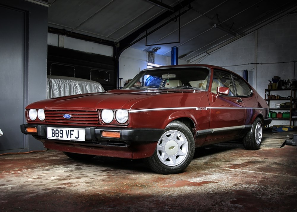 Lot 334 - 1985 Ford Capri 2.8 Injection