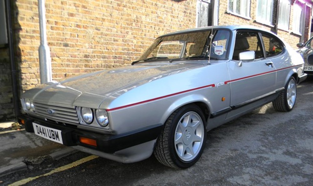 Lot 321 - 1987 12918 Capri 2.8 litre Injection