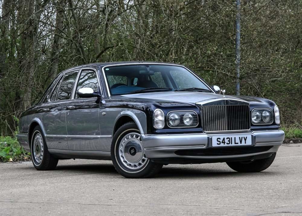Ref 45 1998 Rolls-Royce Silver Seraph
