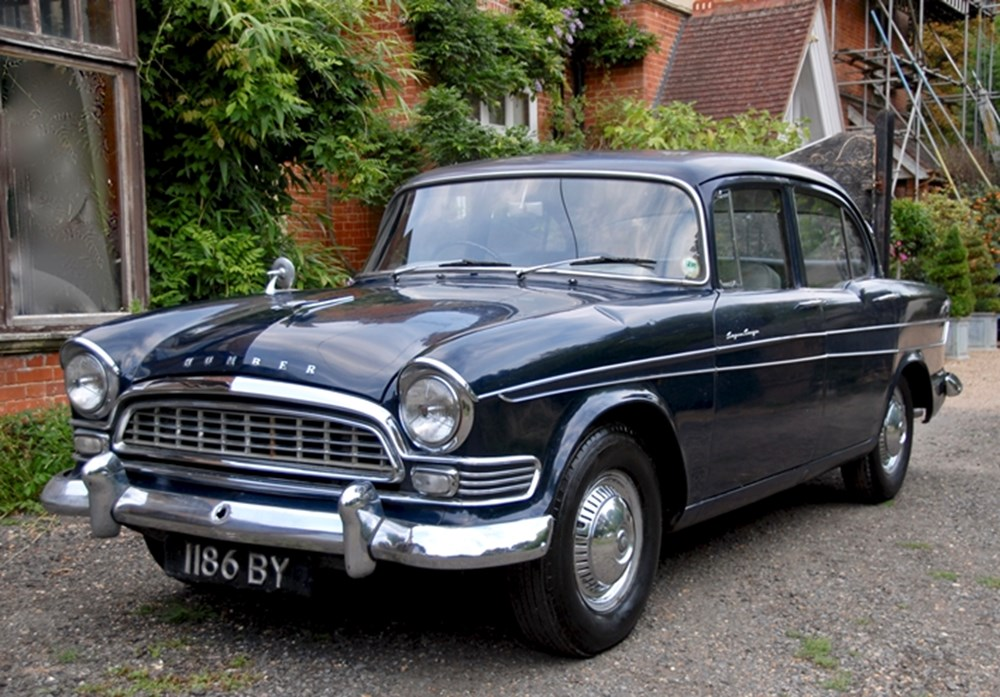 Lot 257 - 1960 Humber Super Snipe Series II