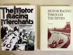 Navigate to Four signed motoring books