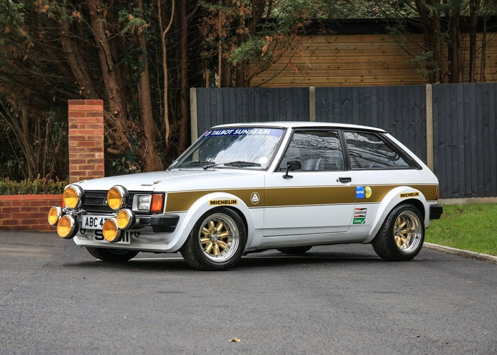 Lot 223 - 1982 Talbot Sunbeam Lotus