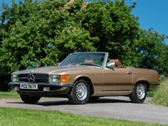 Navigate to Lot 186 - 1982 Mercedes-Benz  SL 380