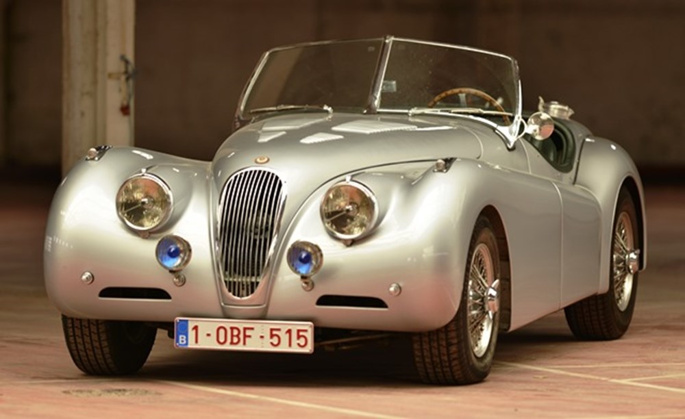 Lot 276 - 1954 Jaguar XK140 Aluminium Roadster