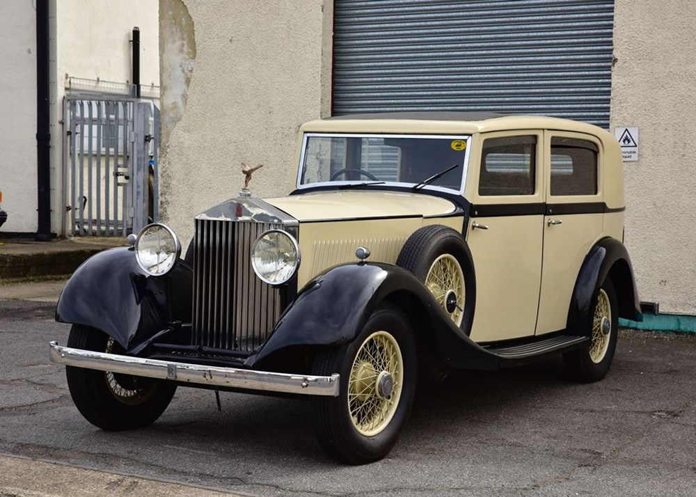 Lot 251 - 1935 Rolls-Royce 20/25 by Hooper