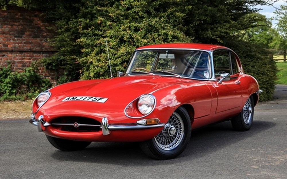 Lot 274 - 1967 Jaguar E-Type S1½ 2+2 Fixedhead Coupe
