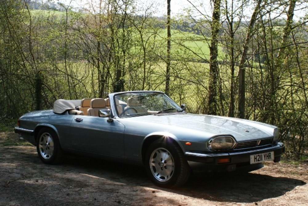 1991 Jaguar XJS Convertible - auctions & price archive
