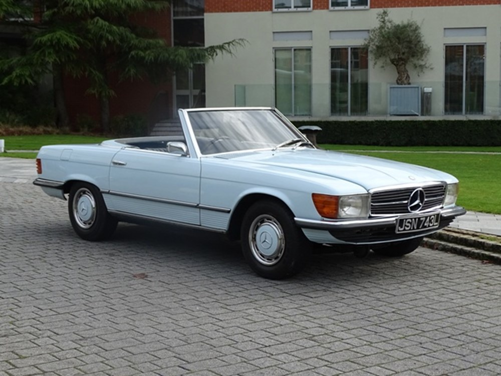 Lot 212 - 1973 Mercedes-Benz 350 SL Roadster